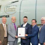 Первый сертификат для Global 7500