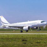 ACJ319neo успешно выполнил свой первый полет